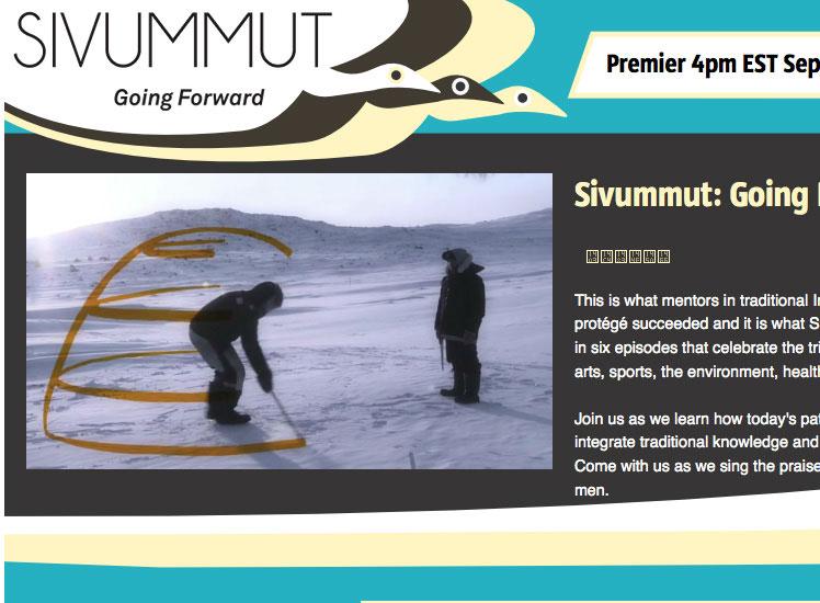 Site Web-http://www.sivummut.ca